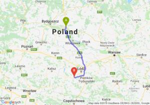 Trasa Lubicz Dolny - Łask