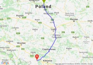 Trasa Lubicz Dolny - Kędzierzyn-Koźle