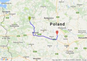 Trzcianka (wielkopolskie) - Babiak (wielkopolskie)