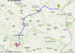 Trasa Siemiatycze - Mikołów