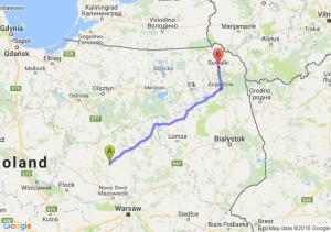 Trasa Ciechanów - Suwałki