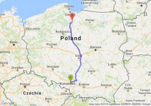 Trasa Gliwice - Gniew