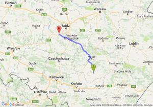 Trasa Busko-Zdrój - Łask