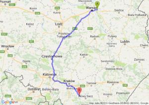 Sulejówek (mazowieckie) - Limanowa (małopolskie)