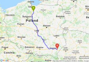 Trasa Kwidzyn - Jarosław