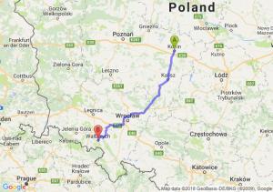 Trasa Konin - Wałbrzych