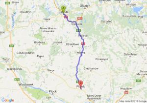 Trasa Ostróda - Płońsk