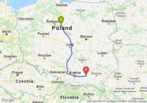 Trasa Toruń - Tarnów