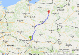 Trasa Zabrze - Łomża