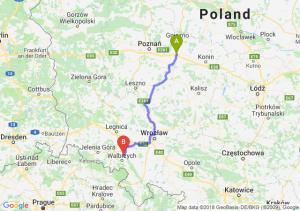 Trasa Września - Świebodzice