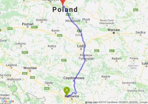 Trasa Zabrze - Toruń