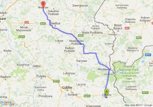 Trasa Chełm - Węgrów