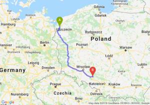 Trasa Goleniów - Opole