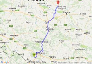 Trasa Rybnik - Płońsk