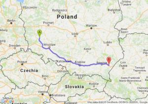 Trasa Głogów - Jarosław