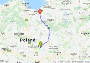 Trasa Płock - Pasłęk