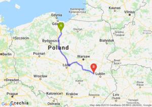 Trasa Kwidzyn - Puławy