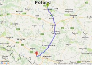 Trasa Włocławek - Kędzierzyn-Koźle