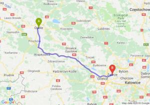 Trasa Opole - Zabrze