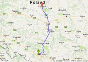Trasa Zabrze - Włocławek
