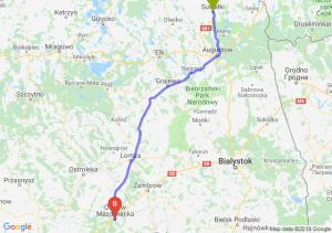 Trasa Suwałki - Ostrów Mazowiecka