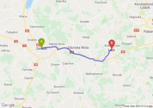 Trasa Sieradz - Łask