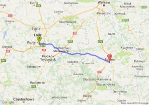 Trasa Rzgów - Radom