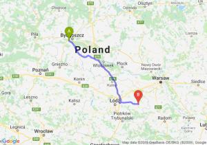 Trasa Białe Błota - Rawa Mazowiecka