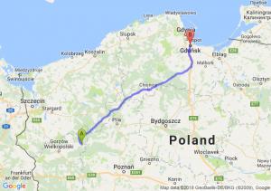 Trasa Drezdenko - Gdańsk