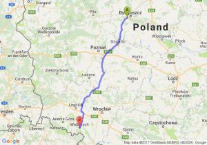 Trasa Białe Błota - Wałbrzych