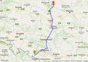Trasa Racibórz - Płock