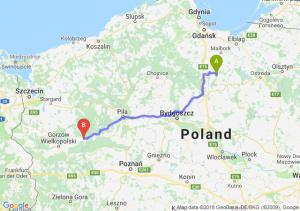 Trasa Kwidzyn - Drezdenko