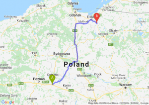 Trasa Września - Pasłęk