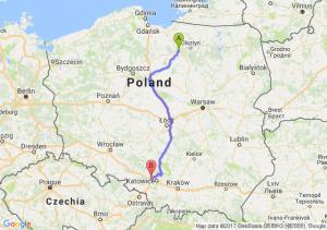Trasa Ostróda - Zabrze