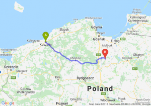 Trasa Koszalin - Kwidzyn