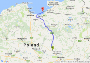 Trasa Płońsk - Piaski