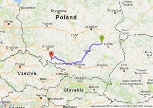 Trasa Puławy - Nysa