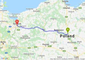 Trasa Lubicz Dolny - Szczecin