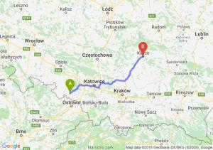 Trasa Racibórz - Kielce