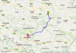 Trasa Białobrzegi - Czeladź