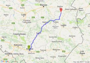 Trasa Bronowice - Łuków