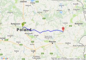 Toruń - Ostrów Mazowiecka