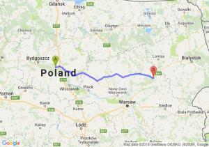 Trasa Toruń - Ostrów Mazowiecka