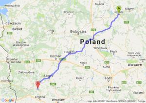 Ostróda - Polkowice