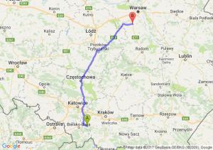 Andrychów - Tarczyn