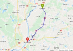 Trasa Kwidzyn - Grudziądz