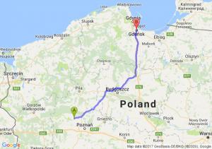 Szamotuły - Gdańsk