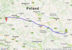 Puławy - Wolsztyn