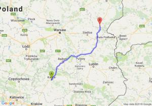 Trasa Kielce - Siemiatycze