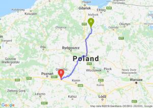 Trasa Kwidzyn - Września